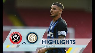 SHEFFIELD UNITED-INTER 1-1 | Highlights | #InterPreSeason 2018/19