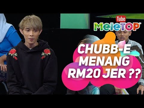 Chubb-E Juara Ceria Megastar Menang RM20 Jer ?? | Adik Nurul Iman Viral 2 Juta Views I MeleTOP