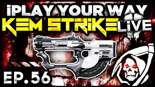 cod ghosts kem strike class iplay your way ep 56 call of duty ghost multiplayer gameplay