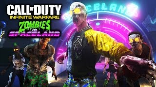 Call of Duty Infinite Warfare - Zombies in Spaceland! [ Playstation 4 - Gameplay ]
