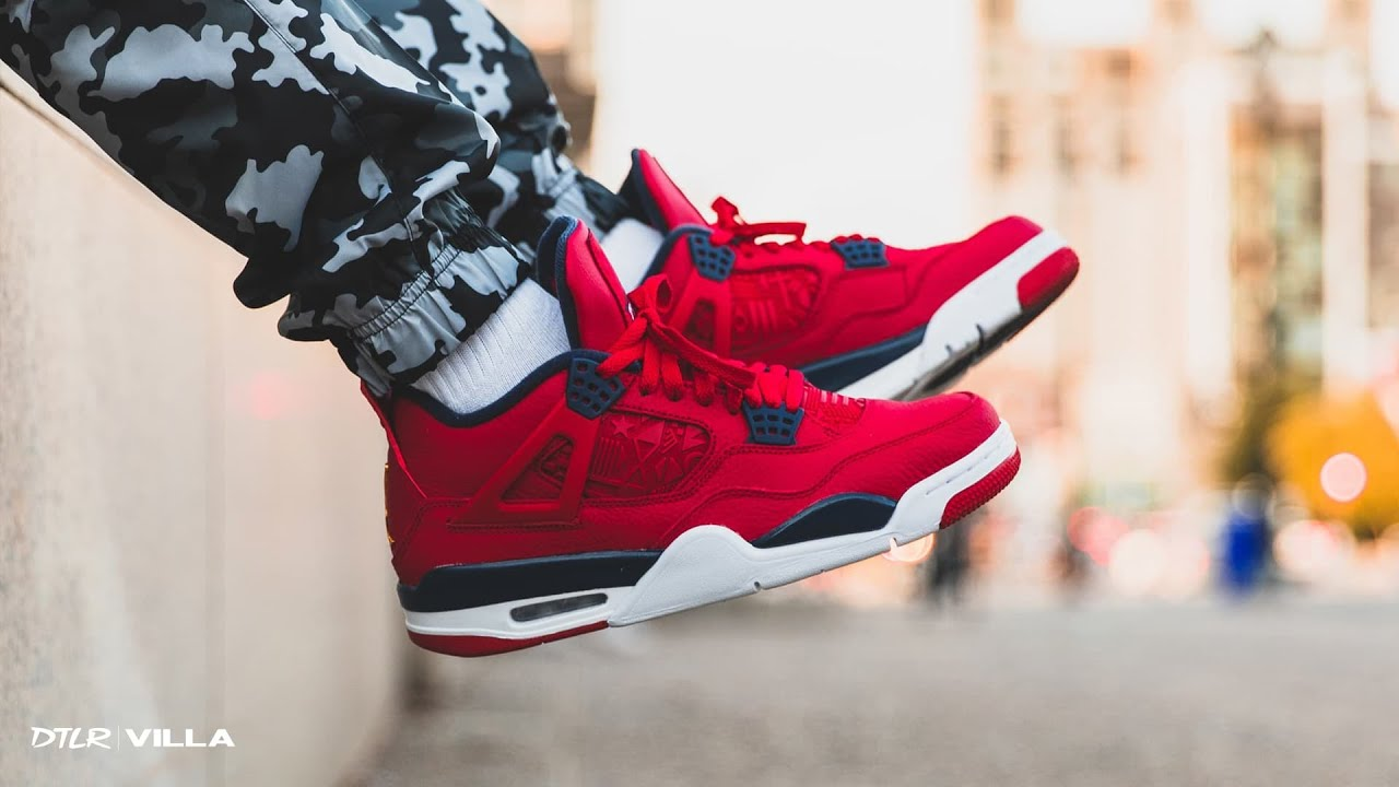 Set to Drop: Air Jordan Retro 4 'Fiba'