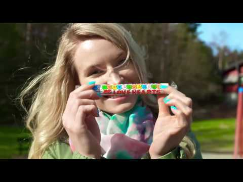Rainbow- Lipstick & Lip Balm Out of Candy! 3 DIY Makeup Projects Galaxy,