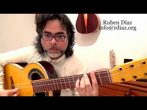 Learn Super-Basic Flamenco Chords 4 (por Minera C#m) Paco de Lucia´s style guitar lesson Ruben Diaz