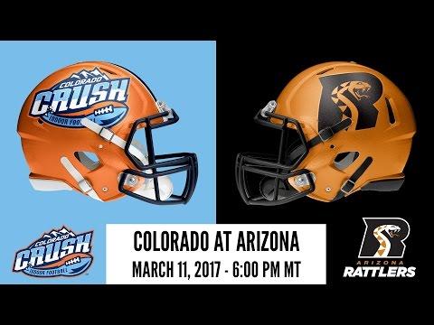 Week 4 | Colorado Crush at Arizona Rattlers