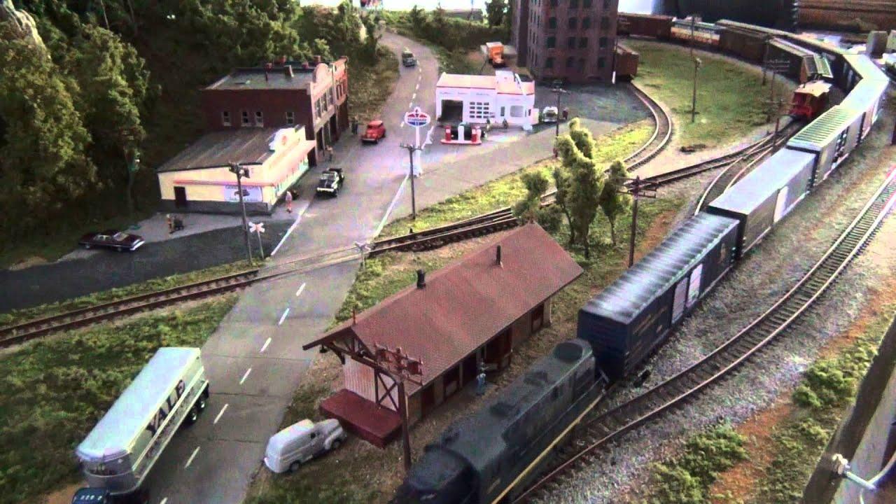 HO Scale Model Train Layouts modeltrains modeltrainlayouts Model