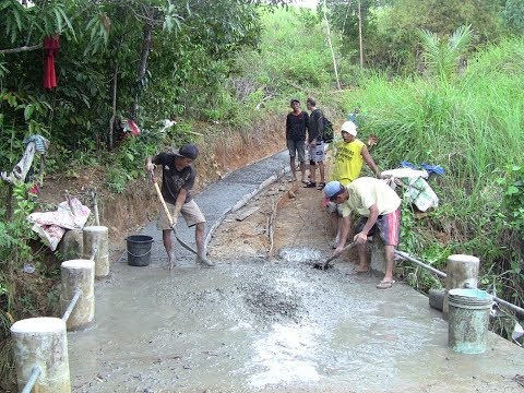 ONDATE UPDATE ON  OUR ROAD UPHILL TUNNEL PROJECT EXPENSES EXPAT SIMPLE LIFE PHILIPPINES