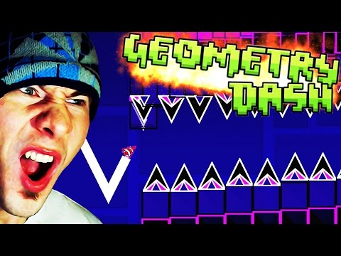 SO MANY CHALLENGES ~ Geometry Dash Eric Van Wilderman FANMADE Levels (9)