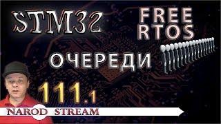 Программирование МК STM32. Урок 111. FreeRTOS. Очереди. Часть 1