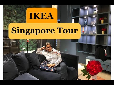 IKEA Singapore tour/One stop for all your home needs/ Ikea Tour/Indian SAHM Swati/BlusmSg