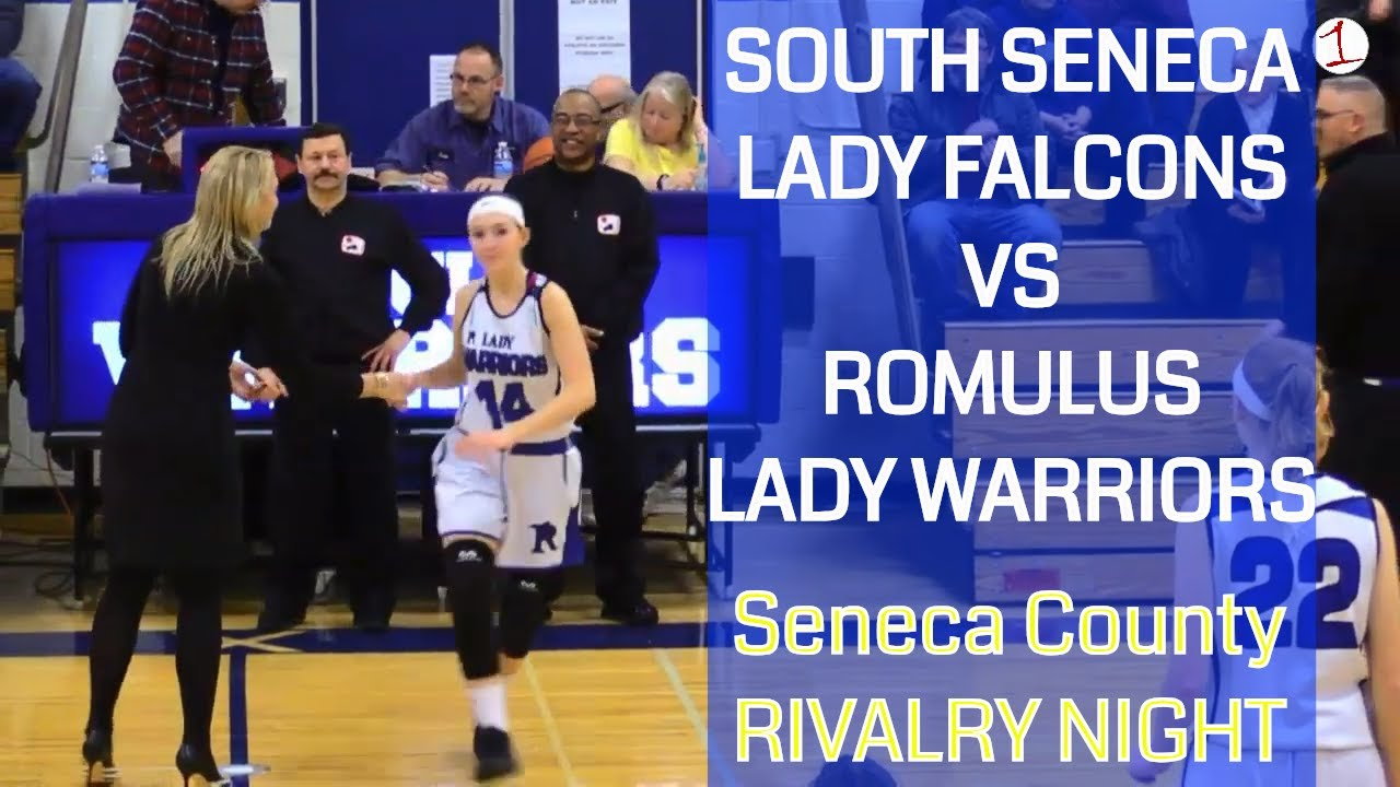 South Seneca Lady Falcons vs. Romulus Lady Warriors .::. FL1 Sports 1/10/19