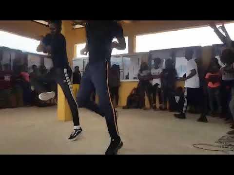 Dance performance at Madonna university.