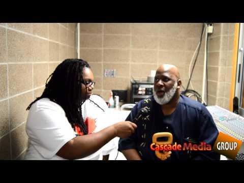 """Tashia Richards interviews Akinyele Umoja the author of """"We will shoot Back"""""""