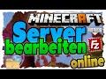 Hosted Minecraft-Server online mit FileZilla via FTP editieren/einstellen - Tutorial!