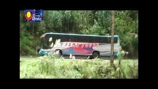 Reportaje al desastroso estado de la carretera San Luis - Pomabamba