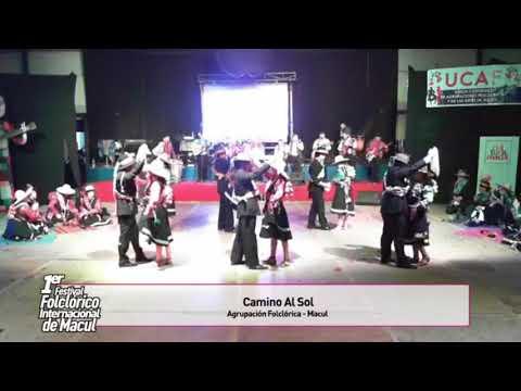 """""""Fiesta de Carnavales""""  Intiñan - 1er Festival Internacional de Folklore de Macul 2017"""