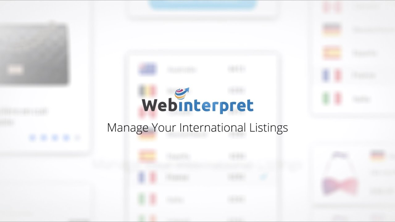 How To Manage My International Ebay Listings Youtube