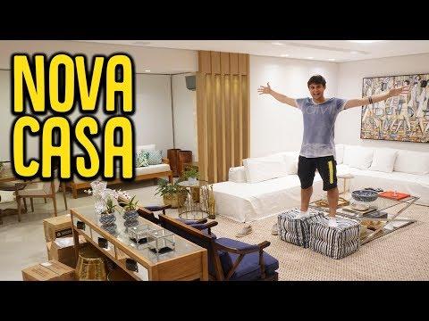TOUR PELA MINHA NOVA CASA !! [ REZENDE EVIL ]