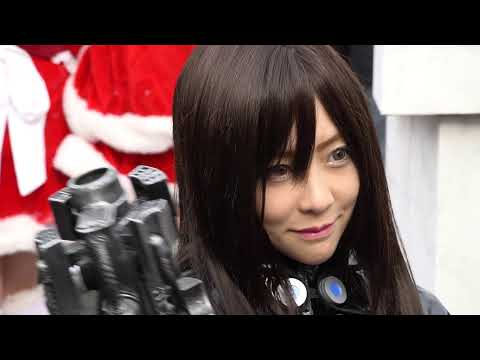 【C91】 GANTZスーツが超絶カッコイイ☆ボディラインが素晴らしいコスプレイヤーさん♥ 【COMIC MARKET(Comiket)91 Winter 2016】