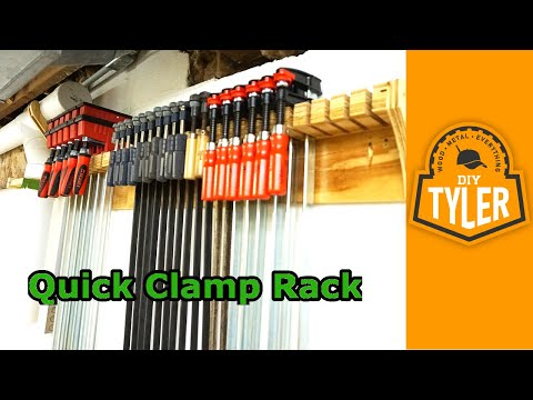 Quick Clamp Rack  036