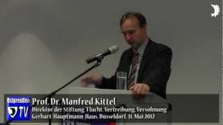 Prof. Dr. Manfred Kittel: Das Thema