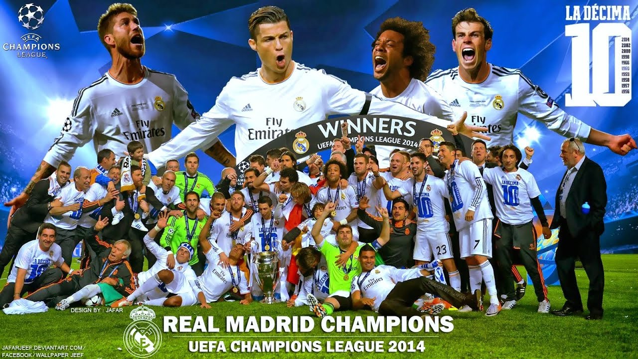 Cuadro Champions League 2014 Real Madrid Cf Best Moments In Season 2013 2014 La