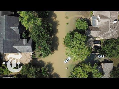 A Houston Neighborhood Under Water