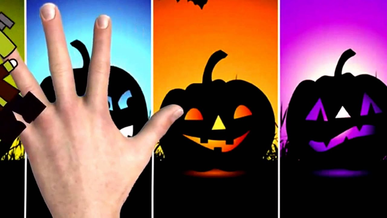 Halloween Night - Finger Family