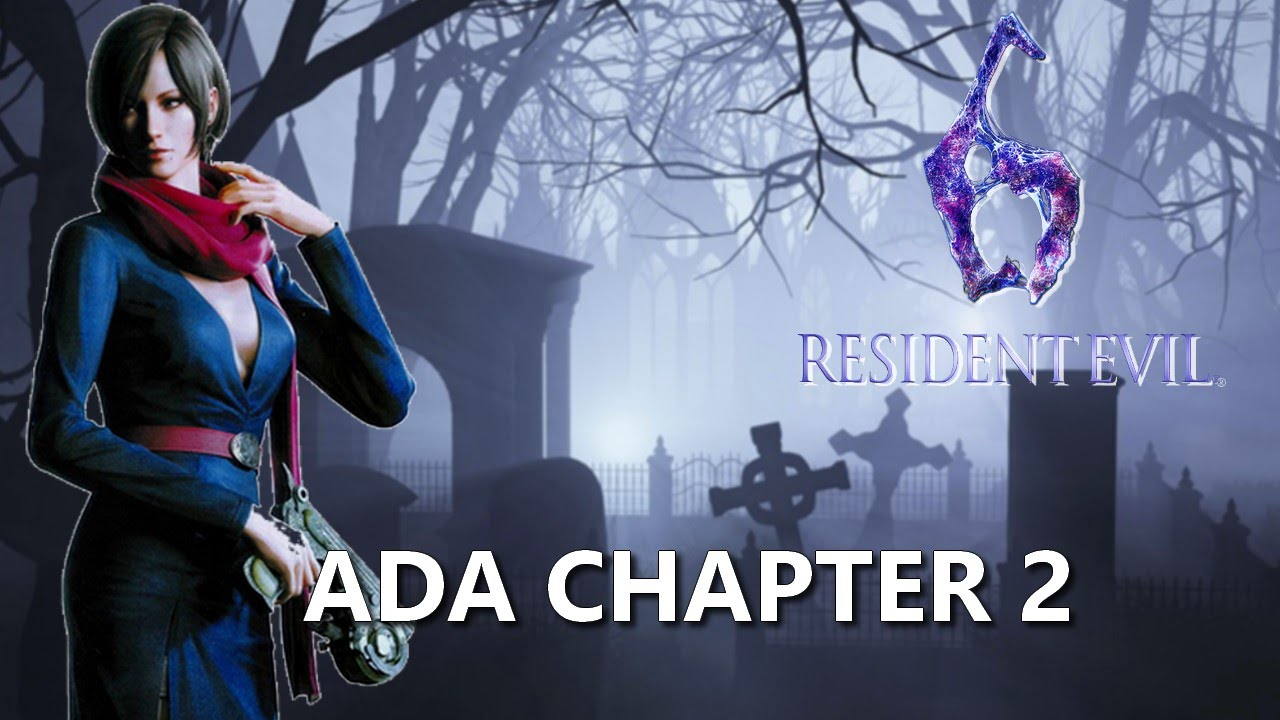Resident Evil 6 Ada Chapter 2 Youtube