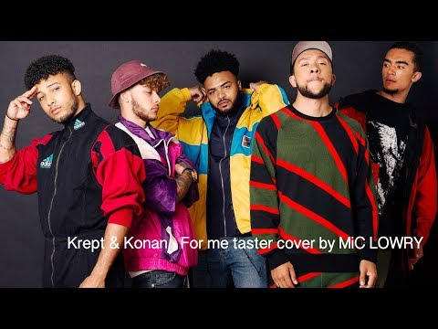Krept & Konan - For me - taster cover by MiC LOWRY
