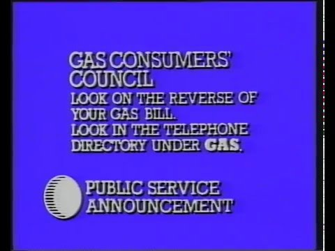 British Gas Consumers Council 1980's Tv Advertisment