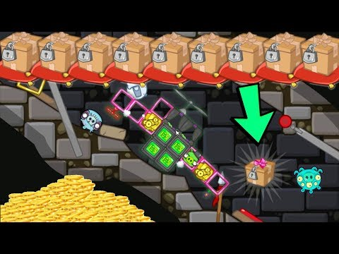 Thumbnail: Bad Piggies - CARRYING THE MIGHTY EAGLE 7000+ SCRAPS MEET ANGRY BIRDS
