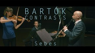 Bartók Contrasts: Sebes, Mvt 3. Hawley, Nebel, McKiggan
