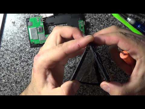 Lumia 520 замена сенсора
