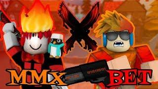 ROBLOX YOUTUBER GODLY BET!! (COLBEM VS PDJGAMER) | Murder Mystery X