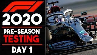 F1 2020 Winter Testing Day 1 Review!