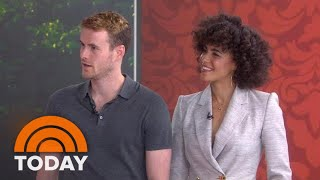 Stars Of Lifetime's 'Harry And Meghan' On Prince Harry & Meghan Markle | TODAY