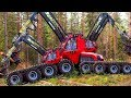 Heavy Dangerous Large Work Tractor Chainsaw Wood Cut Machines - extreme Fastest Technology Automatic