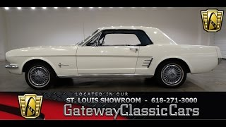 1966 Ford Mustang #6833 - Gateway Classic Cars St. Louis