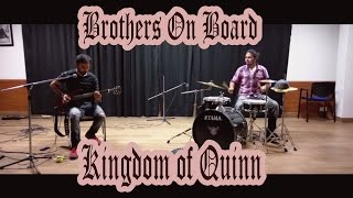 kingdom of quinn - brothers on board | post rock | live performance