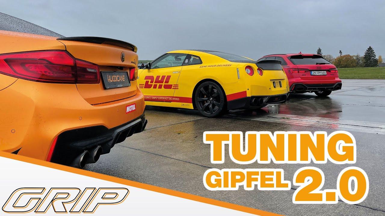 Tuning-Gipfel - Part 2 - Nissan GT-R, BMW M5 und Audi RS6 🔥