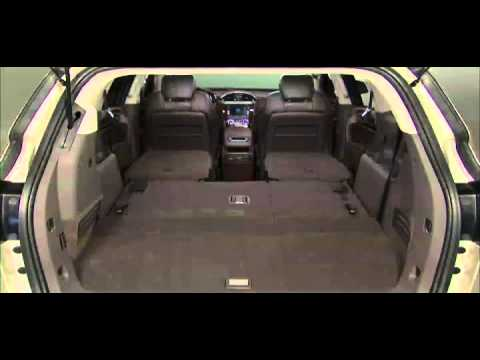 2015 Buick Enclave How To Fold 2nd and 3rd Row Seats - YouTube