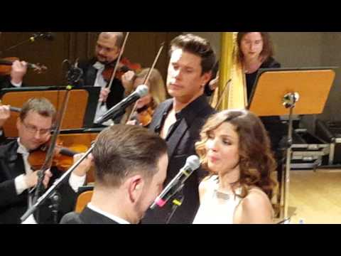 Time To Say Goodbye - David Miller and Sarah Joy Miller Live at Gala Concert, Zilina Jan 22, 2016