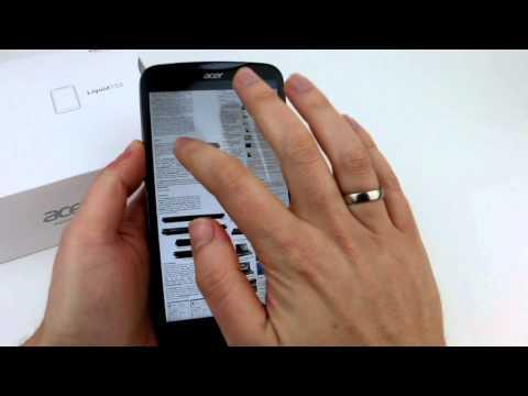 Acer Liquid S2 - Impressions and UI-Performance