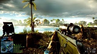 Battlefield 4 SNIPING Gameplay! Multiplayer Online Sniper BF4 Game Play Conquest Paracel Storm HD PC