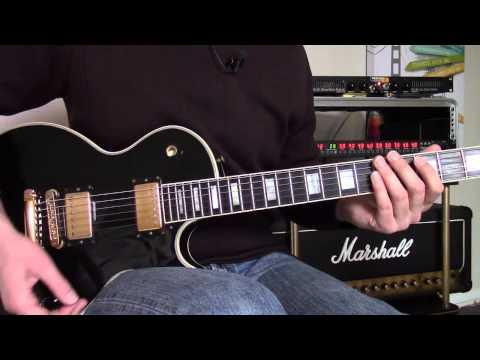 Cours de guitare – Anastasia couplet refrain (Slash)