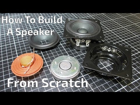 Thumbnail: How to Build a Speaker, From Scratch! - Episode 01