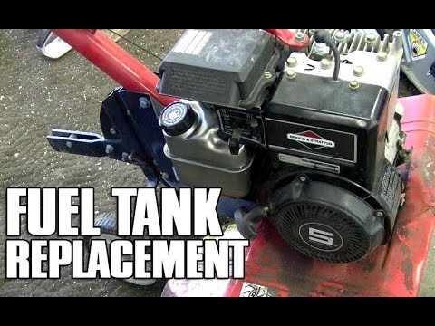 Fuel Tank Replacement On Briggs Stratton 4 5HP Engines