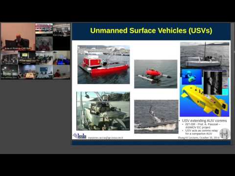 ShanghAI Lectures 2014 – The future of Marine Robotics: Challenges and opportunities