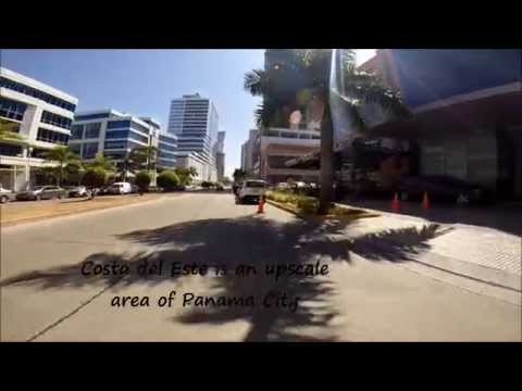 Tour of Costa del Este, Panama City, Panama (HD)