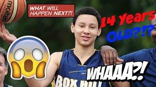 Ben simmons 14 years old freshman year high school highlights : philadelphia 76ers  | #1 draft pick